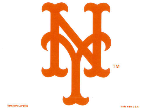 New York Mets Rico Industries Static Cling Decal