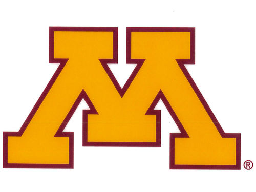 Minnesota Golden Gophers Rico Industries Static Cling Decal