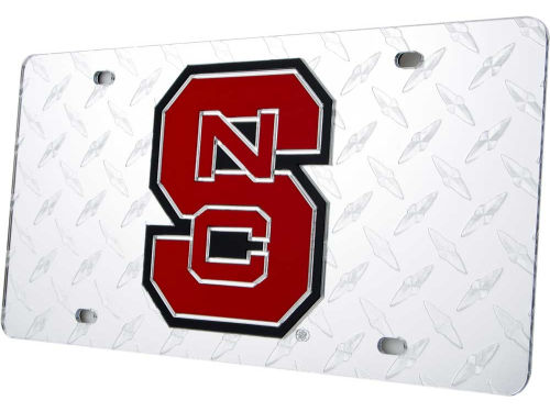 North Carolina State Wolfpack Diamond Acrylic Laser Tag