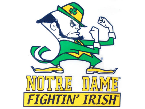 Notre Dame Fighting Irish Rico Industries Static Cling Decal