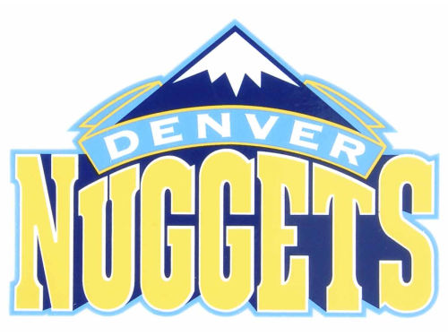Denver Nuggets Rico Industries Static Cling Decal