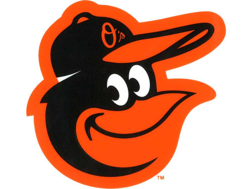 Baltimore Orioles Rico Industries Static Cling Decal