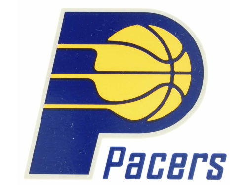 Indiana Pacers Rico Industries Static Cling Decal