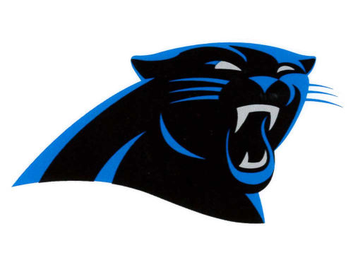 Carolina Panthers Rico Industries Static Cling Decal