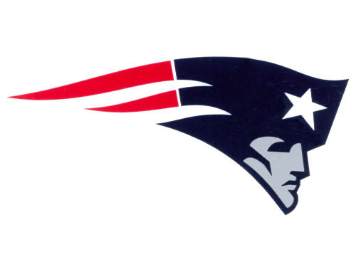 New England Patriots Rico Industries Static Cling Decal