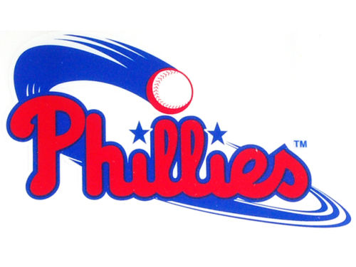 Philadelphia Phillies Rico Industries Static Cling Decal