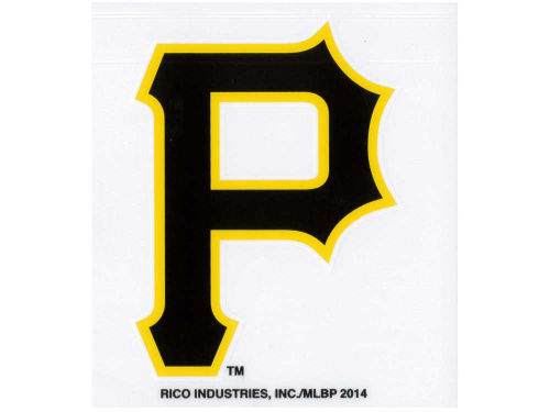 Pittsburgh Pirates Rico Industries Static Cling Decal