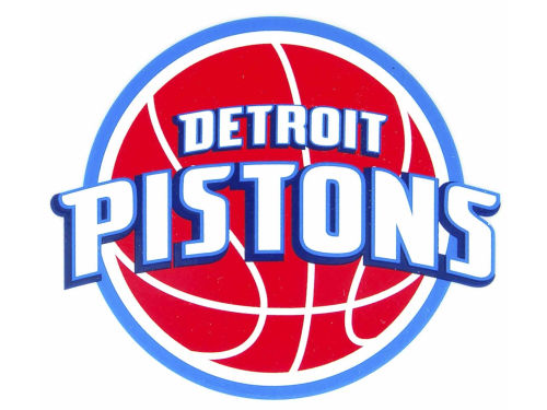 Detroit Pistons Rico Industries Static Cling Decal