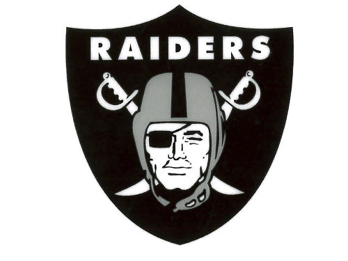 Oakland Raiders Rico Industries Static Cling Decal