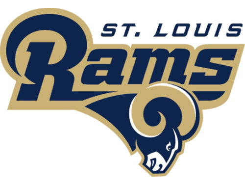 St. Louis Rams Rico Industries Static Cling Decal