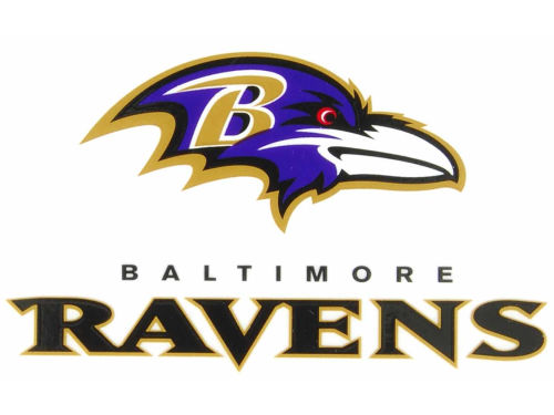 Baltimore Ravens Rico Industries Static Cling Decal