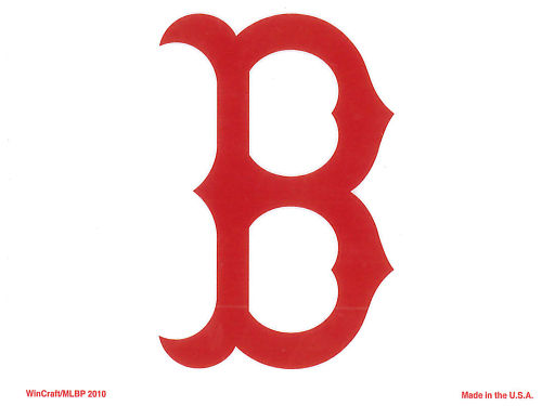 Boston Red Sox Rico Industries Static Cling Decal
