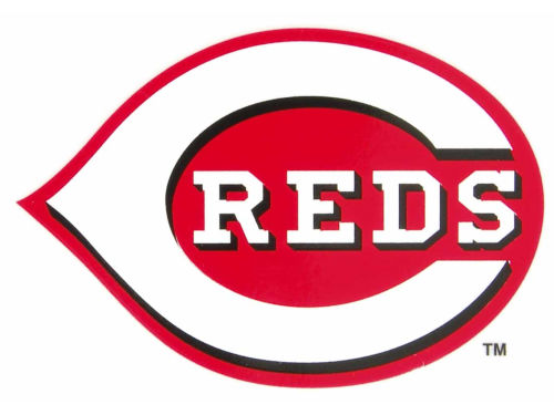 Cincinnati Reds Rico Industries Static Cling Decal