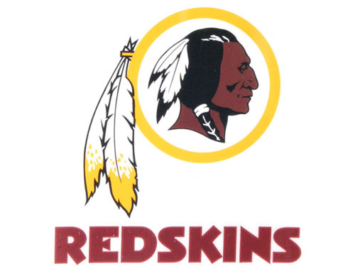 Washington Redskins Rico Industries Static Cling Decal