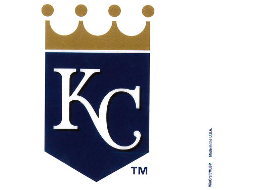 Kansas City Royals Rico Industries Static Cling Decal