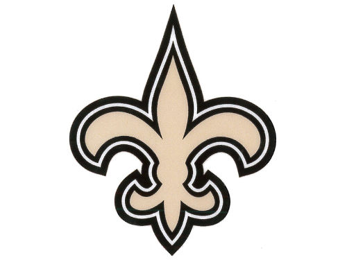 New Orleans Saints Rico Industries Static Cling Decal