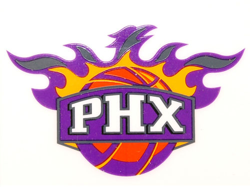 Phoenix Suns Rico Industries Static Cling Decal