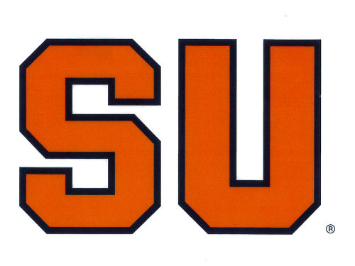 Syracuse Orange Rico Industries Static Cling Decal