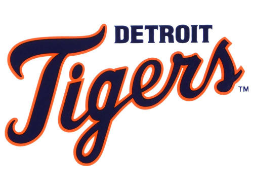 Detroit Tigers Rico Industries Static Cling Decal