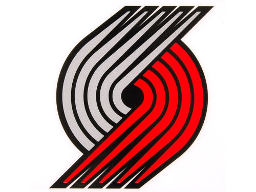Portland Trail Blazers Rico Industries Static Cling Decal