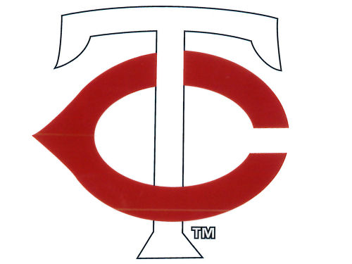 Minnesota Twins Rico Industries Static Cling Decal