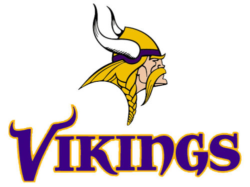 Minnesota Vikings Rico Industries Static Cling Decal