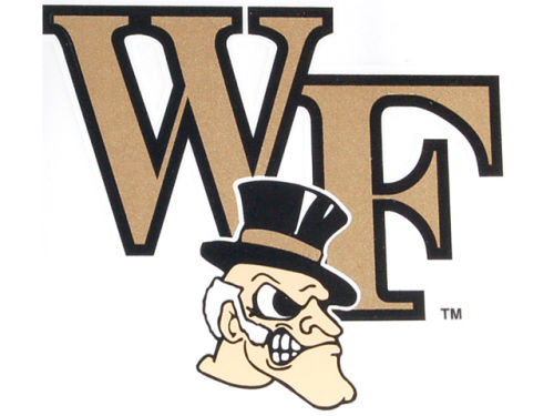 Wake Forest Demon Deacons Rico Industries Static Cling Decal