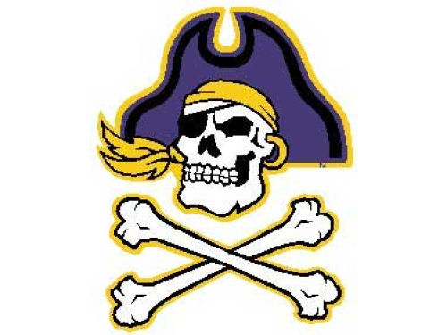 East Carolina Pirates Vinyl Decal