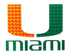 Miami Hurricanes Vinyl Decal Auto Accessories