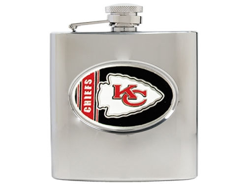 Kansas City Chiefs Great American Products Hip Flask