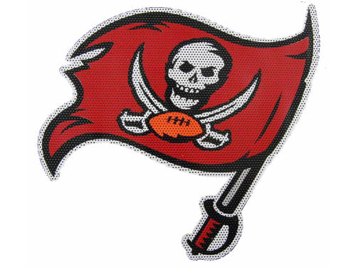 Tampa Bay Buccaneers 12in Window Film