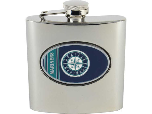 Seattle Mariners Great American Products Hip Flask