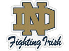 Notre Dame Fighting Irish Vinyl Decal Auto Accessories