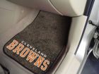 Cleveland Browns Car Mats Set/2 Auto Accessories