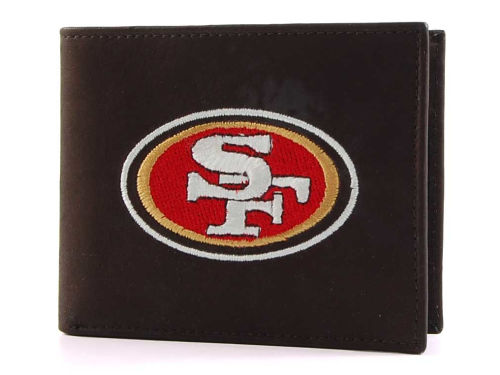 San Francisco 49ers Rico Industries Black Bifold Wallet