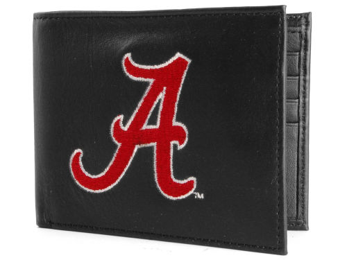 Alabama Crimson Tide Rico Industries Black Bifold Wallet