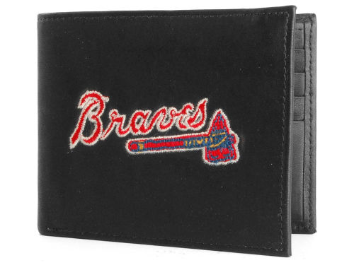 Atlanta Braves Rico Industries Black Bifold Wallet