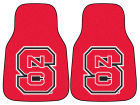 North Carolina State Wolfpack Car Mats Set/2 Auto Accessories