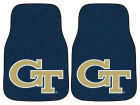 Georgia Tech Yellow Jackets Car Mats Set/2 Auto Accessories