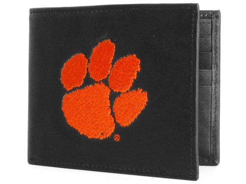 Clemson Tigers Rico Industries Black Bifold Wallet
