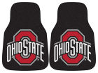 Ohio State Buckeyes Car Mats Set/2 Auto Accessories