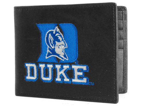 Duke Blue Devils Rico Industries Black Bifold Wallet