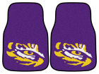 LSU Tigers Car Mats Set/2 Auto Accessories