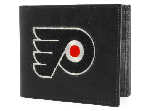 Philadelphia Flyers Rico Industries Black Bifold Wallet