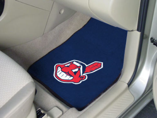 Cleveland Indians Car Mats Set/2
