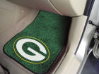 Green Bay Packers Car Mats Set/2 Auto Accessories