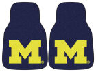 Michigan Wolverines Car Mats Set/2 Auto Accessories