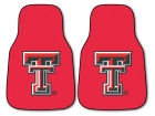 Texas Tech Red Raiders Car Mats Set/2 Auto Accessories