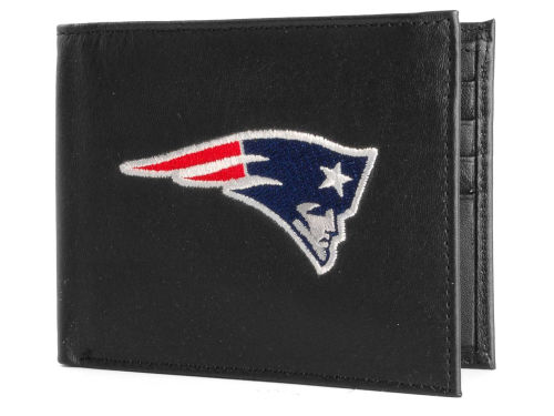 New England Patriots Rico Industries Black Bifold Wallet