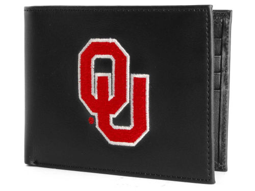 Oklahoma Sooners Rico Industries Black Bifold Wallet